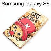 海賊王支架皮套 [J22] Samsung G9200 Galaxy S6 航海王 喬巴【台灣正版授權】