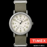 TIMEX 復古軍風數字軍綠帆布帶錶x40mm 冷光夜光面板 TXT2P85900 公司貨| 名人鐘錶高雄門市