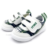 《7+1童鞋》日本 IFME 透氣 魔鬼氈 寶寶機能鞋 學步鞋 D426 白色