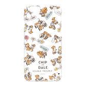 日本正版迪士尼 Disney iPhone6/6S 透明塗鴉系列硬殼 保護殼 保護套 奇奇蒂蒂 020