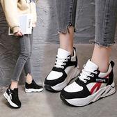 韓版時尚運動鞋學生厚底單鞋百搭休閒鞋女鞋簡約