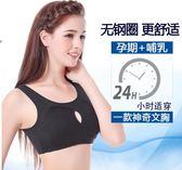 哺乳內衣 純棉孕期文胸孕婦專用內衣胸罩懷孕期美背心舒適哺乳喂奶薄款
