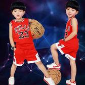 618好康又一發[gogo購]兒童裝男孩背心8運動衣服籃球服夏天