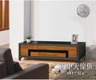 {{ 海中天休閒傢俱廣場 }} G-8 摩登時尚 客廳系列 258-5 尼克絲鐵刀4尺電視櫃