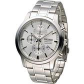 SEIKO 精工 CS系列經典紳士計時腕錶 7T92-0TT0S SNDG65P1