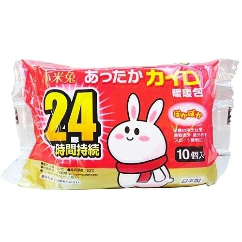 小米兔 暖暖包 24hr 10包/袋【躍獅】