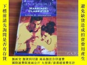 二手書博民逛書店MARRIAGE:罕見CLASSIFIED, LINDA O.