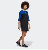 ISNEAKERS adidas originals DRESS 連身 洋裝 黑藍 長版 運動風 休閒風 FL0035