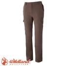 【Wildland 荒野 男款 彈性貼袋保暖休閒長褲《黃卡其》】0A52308/快乾/硬挺耐磨/四向彈性