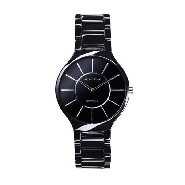 【Relax Time】超薄簡約時尚陶瓷腕錶-銀白針(小)/RT-33-5L/台灣總代理公司貨享一年保固