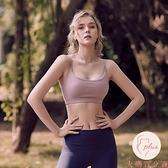防震運動內衣女防下垂聚攏跑步吊帶美背外穿瑜伽服健身背心式文胸【大碼百分百】