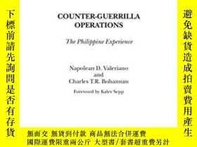 二手書博民逛書店Counter-guerrilla罕見Operations: T