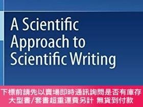 二手書博民逛書店A罕見Scientific Approach To Scientific WritingY255174 Joh
