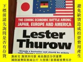 二手書博民逛書店 HEAD罕見TO HEAD: THE COMING ECONOMIC BATTLE AMONG JAPAN, E