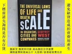 二手書博民逛書店Scale:罕見The Universal Laws of Gr