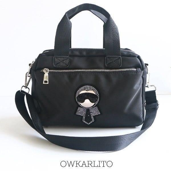 Catsbag-老佛爺防潑水二用方包 肩背包 斜背包-W15390320