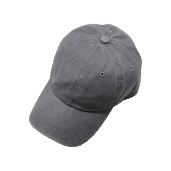 OT SHOP帽子‧素面復古牛仔棉質料‧老帽棒球帽鴨舌帽‧韓版中性文青休閒街頭穿搭‧現貨4色‧C1930