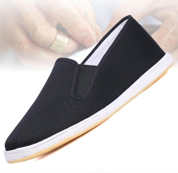 布鞋男棉鞋冬季