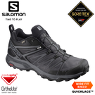 【SALOMON 索羅門 男 X ULTRA 3 GTX低筒輕量防水登山鞋W《黑/磁灰/靜灰》】406596/戶外輕量健行鞋