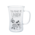 DISNEY迪士尼溫馨小語手繪玻璃馬克杯...