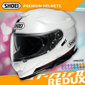[中壢安信]日本 SHOEI GT-Air II 2 彩繪 REDUX TC-6 白黑 全罩 安全帽 內墨鏡