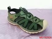 MS1925 愛麗絲的最愛 防水必備~ LOTTO輕量織帶運動涼鞋/男款平底涼鞋/護趾涼鞋