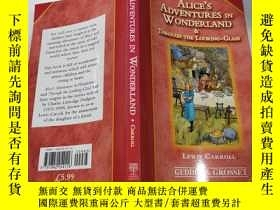 二手書博民逛書店alice s罕見adventures in wonderland:愛麗絲夢遊仙境記Y200392