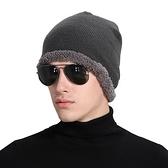 針織毛帽-歐美時尚加絨保暖男女帽子5色73if45【時尚巴黎】