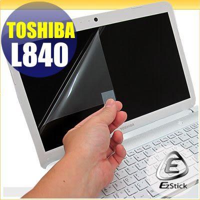 EZstick靜電式筆電LCD液晶螢幕貼貼 - TOSHIBA Satellite L840  專用螢幕貼(可客製化尺寸)