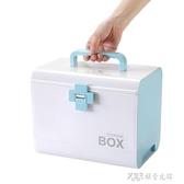 藥箱家用家庭裝全套便攜小型大容量多層小號手提藥箱收納盒ATF 探索先鋒