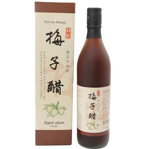 祥記 陳年梅子醋 600ml/瓶