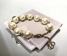 ■現貨在台■專櫃84折■ Dior 全新真品trésor de tribale 星星幸運草蜜蜂圖騰珍珠手鍊