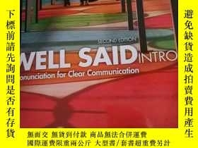 二手書博民逛書店Well罕見Said IntroY312248 Linda Gr