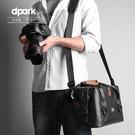 dpark單眼相機包單肩大容量防水男女微單佳能尼康專業斜挎攝影包 雙十二全館免運