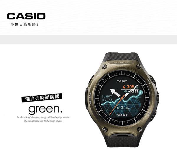 CASIO 智慧型手錶 WSD-F10GN 日本製 Smart Outdoor Watch 熱賣中!