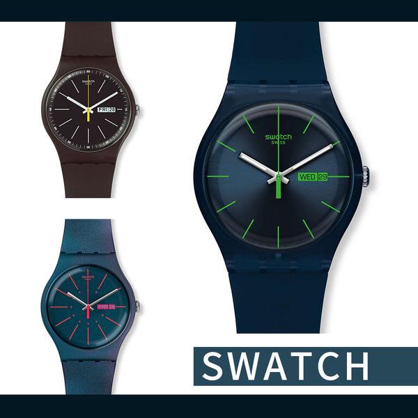 Swatch 低調紳士品味 輕薄腕錶 多款優惠價