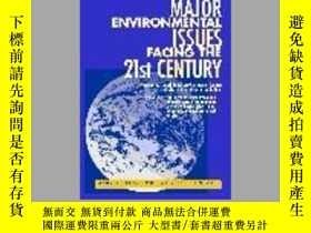 二手書博民逛書店Major罕見Environmental Issues Facing The 21st Century-21世紀面