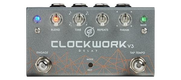 GFI System Clockwork Delay V3 立體延遲效果器 總代理公司貨 保固一年