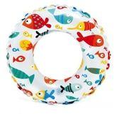 [衣林時尚] INTEX 20吋(51cm) 花色泳圈(魚)  建議3-6歲 59230