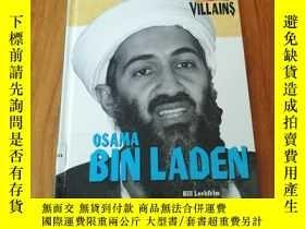 二手書博民逛書店HISTORYS罕見VILLAINS:OSAMA BIN LAD