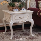 茶几 歐式木質角幾小方幾小方桌法式田園小茶幾客廳沙發邊桌邊幾咖啡桌