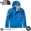 【The North Face 男 FUTURELIGHT防水外套《湖藍》】46LB/衝鋒衣/防風外套/運動外套