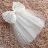 新款新娘頭紗韓式短款婚紗小頭紗