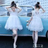 3-5到6至7女兒童裝8夏天小女孩子12公主連身裙子14衣服裝10歲穿11  米娜小鋪