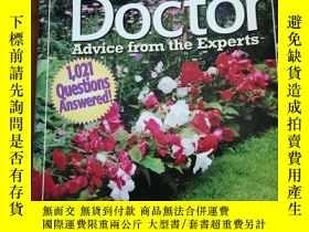 二手書博民逛書店Garden罕見Doctor: Advice from the