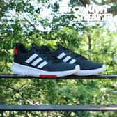 Adidas Cf Racer TR 男 黑 紅 慢跑 (布魯克林) 2018/7月 DB0704