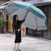戶外遮陽傘大號廣告傘訂製印刷大雨傘擺攤傘太陽傘圓防雨防曬折疊 酷斯特數位3c YXS
