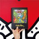 【買一送一】《凱斯哈林特展》安迪老鼠環裝筆記本(加贈展覽限定L夾)