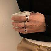 【3件套】戒指復古簡約羅馬數字戒指男女開口食指環【繁星小鎮】