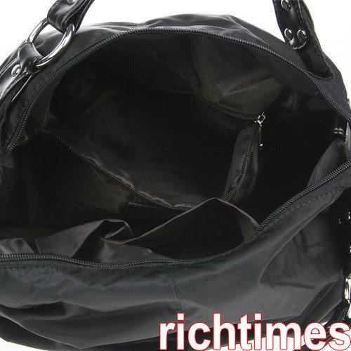 黑色軟肩包JI0A1823